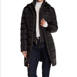 MICHAEL Michael Kors Black Puffer Double Zip Coat